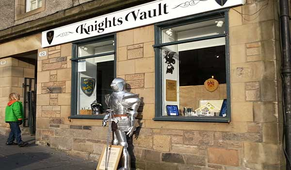 knights vault edinburgh