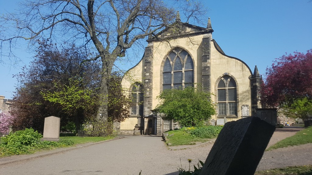 greyfriars church , museum, shop and information, old town edinburgh